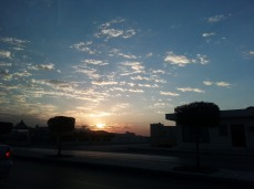 Riyadh dawn, Nov 2012