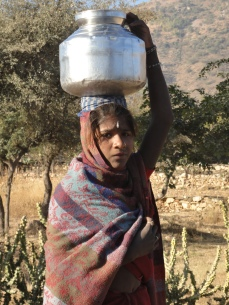 Girl with her water, Rajasthan