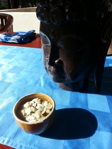 Breakfast and Buddha, Bali May 2013