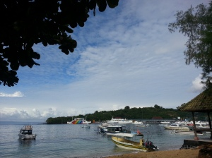 The quiet paradise of Padang Bai